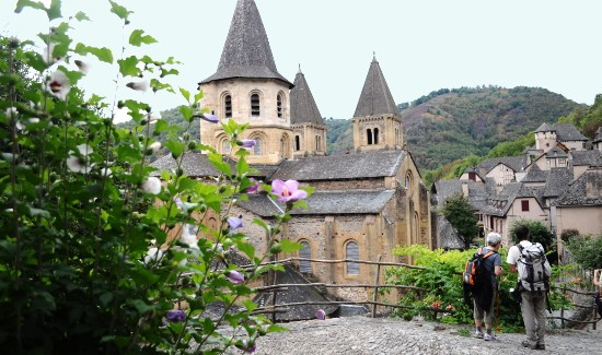 Conques sur la Route du Puy-en-Velay