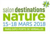 RETROUVEZ-NOUS AU SALON DESTINATIONS NATURE DU 15 AU 18 MARS
